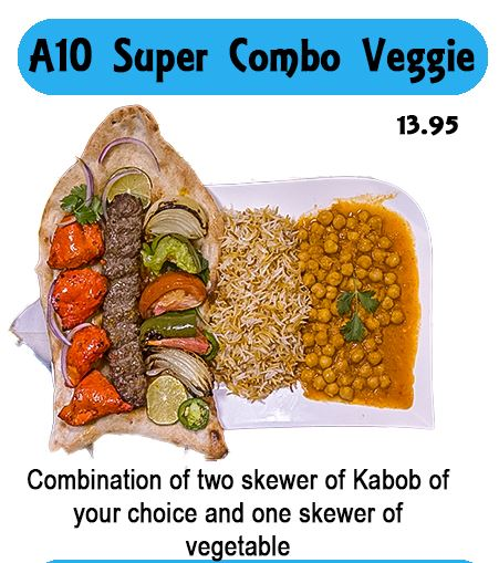 A10 Super Combo Veggie