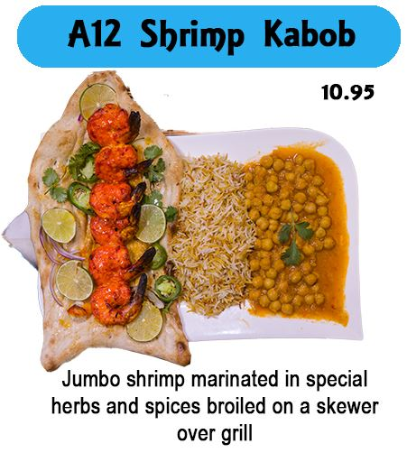 A12 Shrimp Kabob