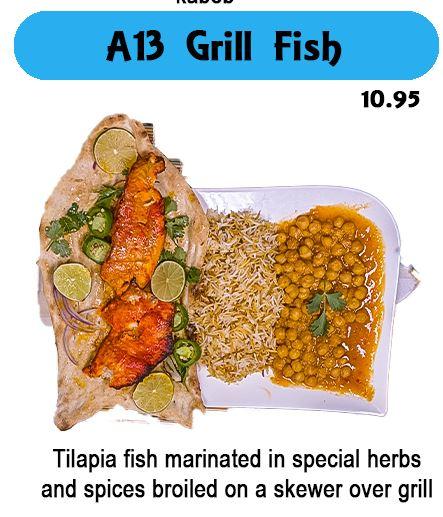 A13 Fish Kabob